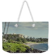 Polo Beach Wailea Point Maui Hawaii Weekender Tote Bag