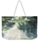 Pond With Water Lilies Weekender Tote Bag