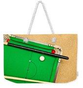 Pool Table Weekender Tote Bag
