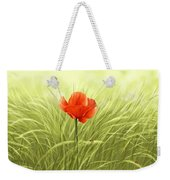 Poppy Weekender Tote Bag