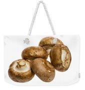 Portobello Mushrooms Weekender Tote Bag