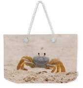 Portrait Of A Ghost Crab Weekender Tote Bag