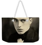 Portrait Of Charlie Chaplin Weekender Tote Bag