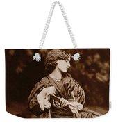 Portrait Of Jane Morris Weekender Tote Bag by John Parsons