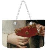 Portrait Of The Artists Sister Weekender Tote Bag