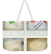 Postal Still Life Weekender Tote Bag