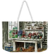 Potting Bench Weekender Tote Bag