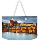 Prague Castle. Weekender Tote Bag