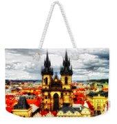 Prague Church Of Our Lady Before Tyn Weekender Tote Bag