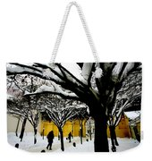 Prague Winter  Weekender Tote Bag