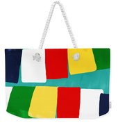 Prayer Flags Weekender Tote Bag by Linda Woods