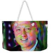 President William J. Clinton Weekender Tote Bag