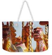 Pretty Carousel Horses Weekender Tote Bag