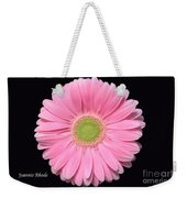 Pretty Pink Gerbera Daisy Weekender Tote Bag