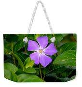 Pretty Purple Pinwheel Weekender Tote Bag