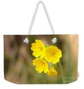 Primula Cowslip Fairy Cups Weekender Tote Bag