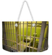 Prison Cell Alcatraz Island Weekender Tote Bag