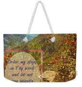 Psalm 119 133 Weekender Tote Bag
