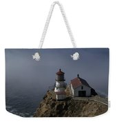 Pt Reyes Lighthouse Weekender Tote Bag by Bill Gallagher