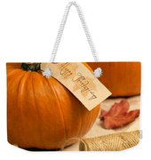 Pumpkins For Thanksgiving Weekender Tote Bag