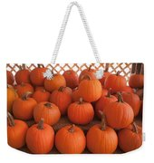 Pumpkins On Pumpkin Patch Weekender Tote Bag