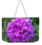Purely Purple Weekender Tote Bag