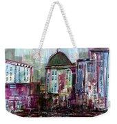 Purple City Weekender Tote Bag