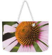 Purple Cone Flower Echinacea Weekender Tote Bag