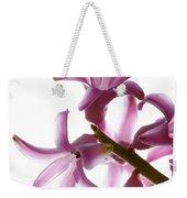 Purple Hyacinth Macro Shot. Weekender Tote Bag
