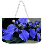 Purple Iris 2 Weekender Tote Bag