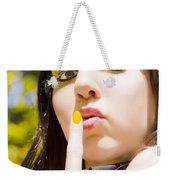 Quiet Whisper Weekender Tote Bag