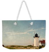 Race Point Light Weekender Tote Bag by Bill Wakeley
