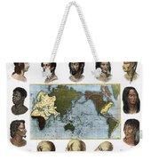 Racial Types, 19th Century Weekender Tote Bag