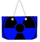 Radiation Warning Sign Weekender Tote Bag