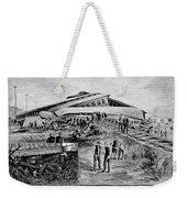 Railroad Accident, 1887 Weekender Tote Bag