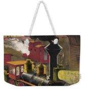 Railroad Junction, C1876 Weekender Tote Bag