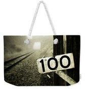 Railway  Weekender Tote Bag by Les Cunliffe