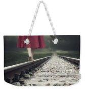 Railway Tracks Weekender Tote Bag by Joana Kruse