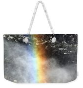 Rainbow And Falls Weekender Tote Bag
