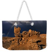 Rainbow And Sandstone Formations Fantasy Canyon Utah Weekender Tote Bag