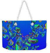 Rainbow Blue Weekender Tote Bag