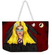 Raven Yellow Hair Weekender Tote Bag