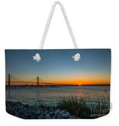 Charleston Sundown Weekender Tote Bag