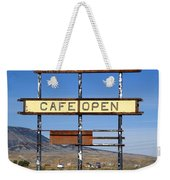 Rawlins Wyoming - Grandma's Cafe Weekender Tote Bag