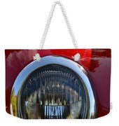Red Classic Ford Weekender Tote Bag