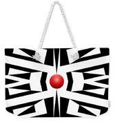 Red Ball 8 Weekender Tote Bag