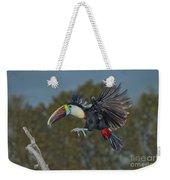 Red-billed Toucan Weekender Tote Bag