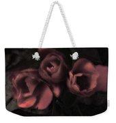 Red Bloom Weekender Tote Bag