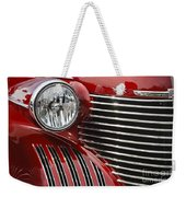 Red Cadillac Weekender Tote Bag