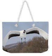 Red-crowned Crane Weekender Tote Bag